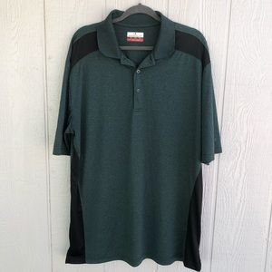 Grand Slam Polo Men XLT casual/golf Hunter Green